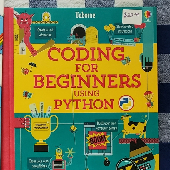 Kids Usborne coding book